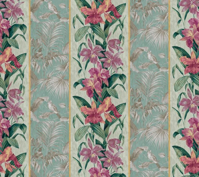 orchid toile celadon copyright 2013