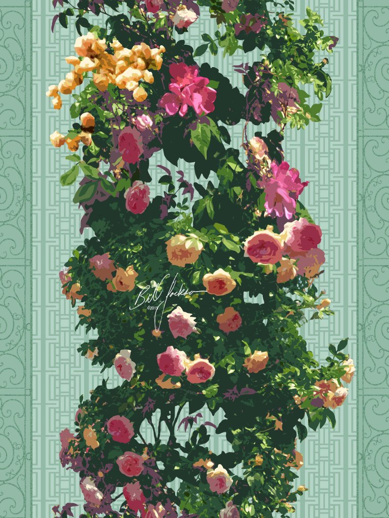 Cranford Rose Column LR
