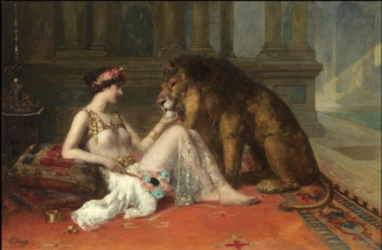 Her Favorite Pet Adolphe Weisz