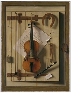Still Life-Violin & Music