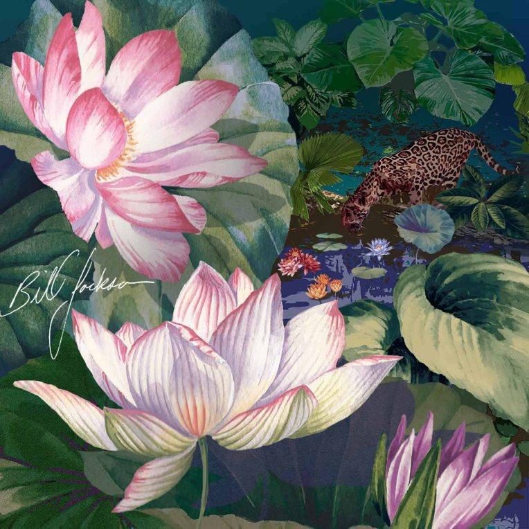 Jaguar Lily Pond LR