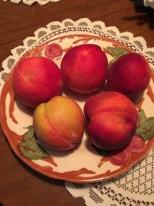 Delaware peaches